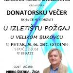 plakat donatorska